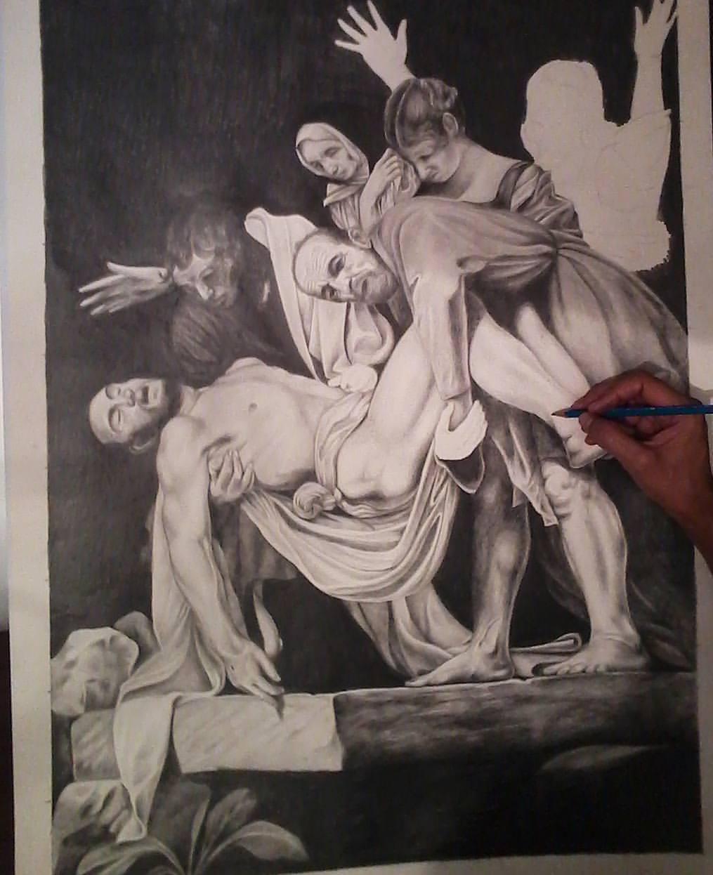 Deep in Caravaggio